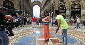 Milan a favourite movie set