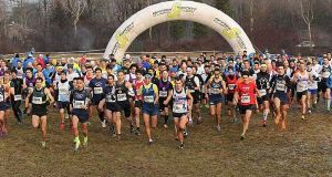Cross-country race in Milan's parks.