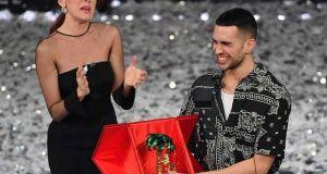 Milan singer wins Sanremo songfest 2019