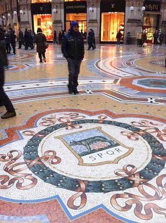 Works at Galleria Vittorio Emanuele II are over