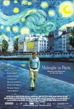 English Language Cinema in Milan - Midnight in Paris