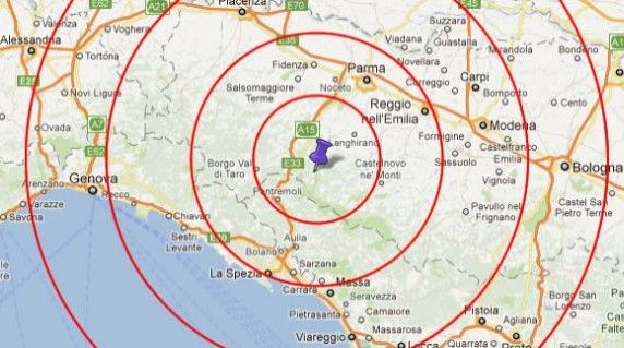 New earthquake in Milan