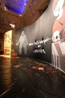 Six Street Artists at Palazzo Marino