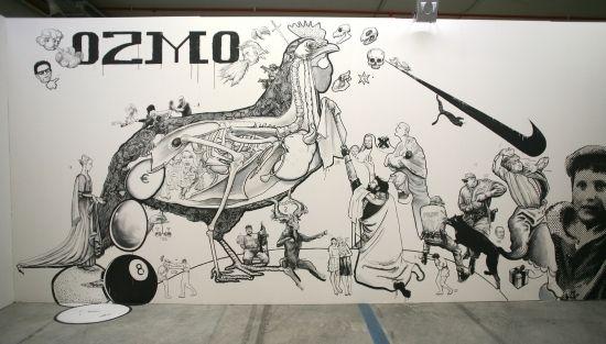 Ozmo at Museo del Novecento