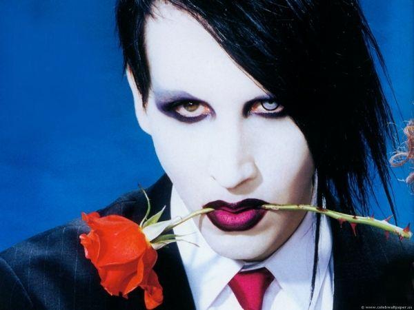 Marilyn Manson in Milan