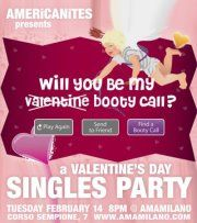 (Anti) St. Valentine's Day Singles Party in Milan