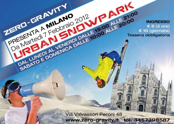 Skiing and Snowboarding in Milan