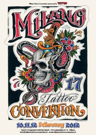 The Milan Tattoo Convention 2012