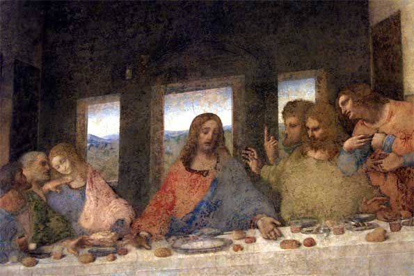 Extraordinary Opening of the Last Supper