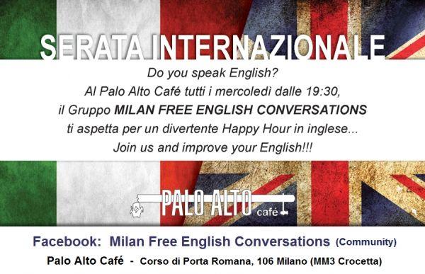 Free English Conversations in Milan