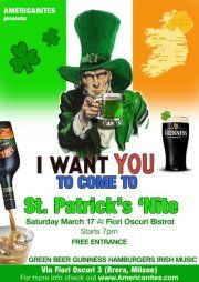 St. Patrick's Day Party 2012 in Milan