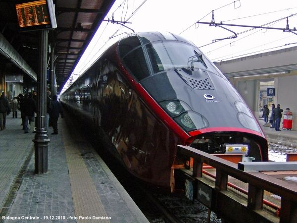 Italy's new high-speed train service