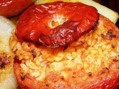 Today's recipe - Pomodori al Riso