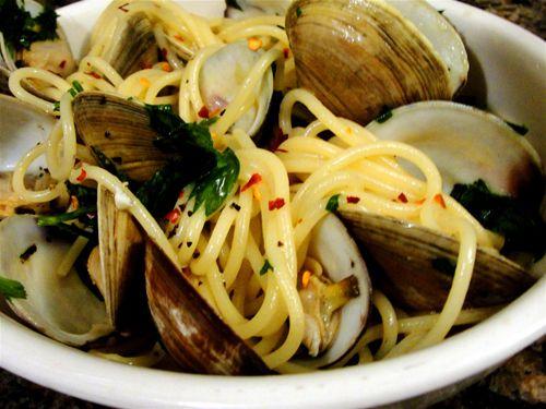 Today's recipe - Spaghetti alle Vongole