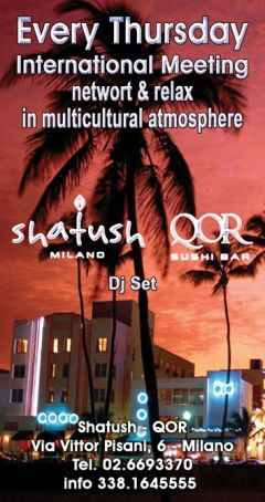 The official international series of aperitivi by Shatush QOR