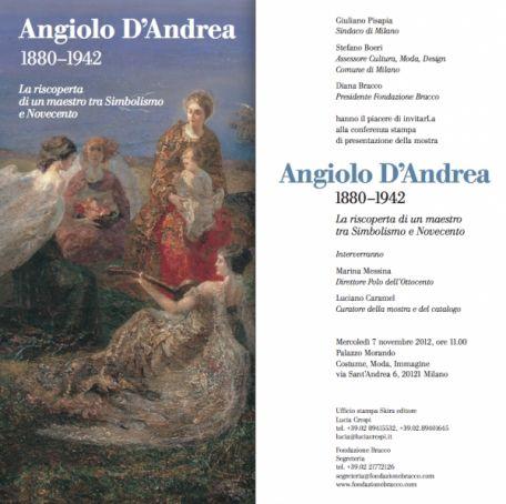 Angiolo D'Andrea at Palazzo Morando