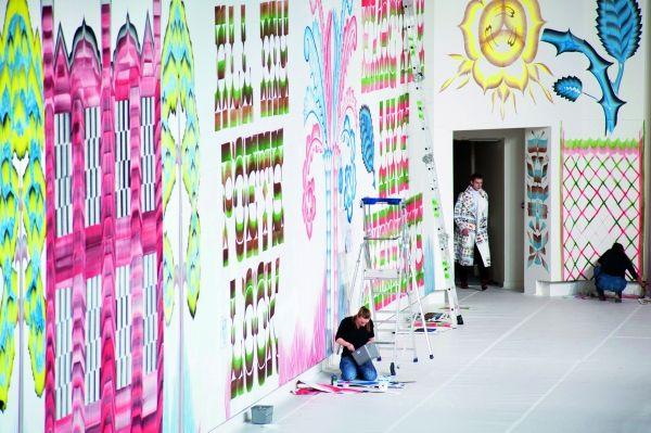 Murals by Gijs Frieling