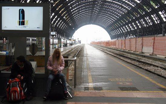 Rail strike Friday 18 Jan