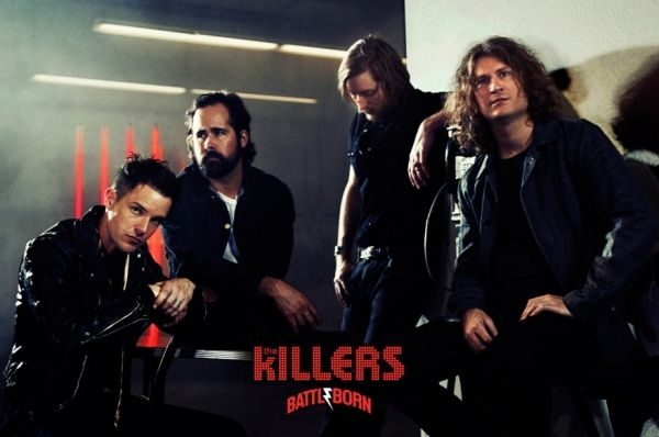 The Killers concert in Milan