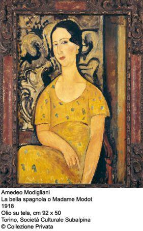 Modigliani, artistes maudits at the Palazzo Reale