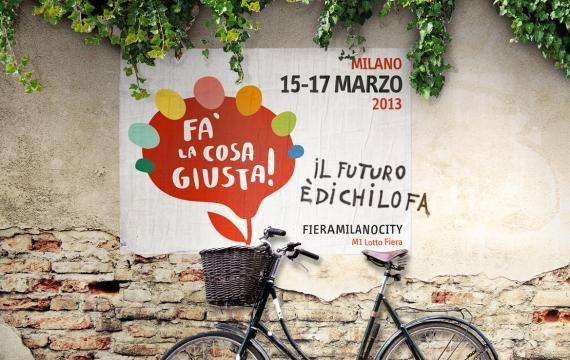 Fa' la cosa giusta! The fair of conscious consumption and sustainable lifestyles