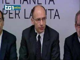 Enrico Letta promises: no mafia in Expo 2015