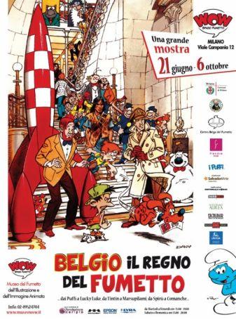 Homage to Belgian cartoons at Wow
