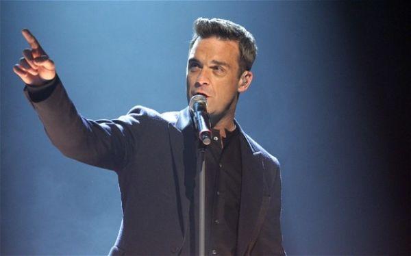 Robbie Williams concert in Milan