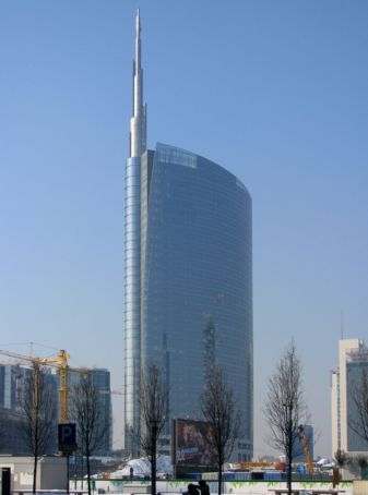 Milan's Unicredit Tower wins Emporis listing