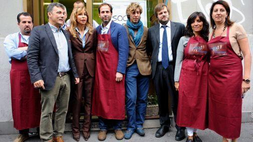 Milan's first 'social market' opens