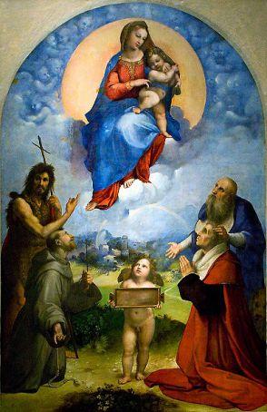 Raphael's Madonna di Foligno in Milan