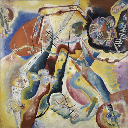 Kandinsky at the Royal Palace