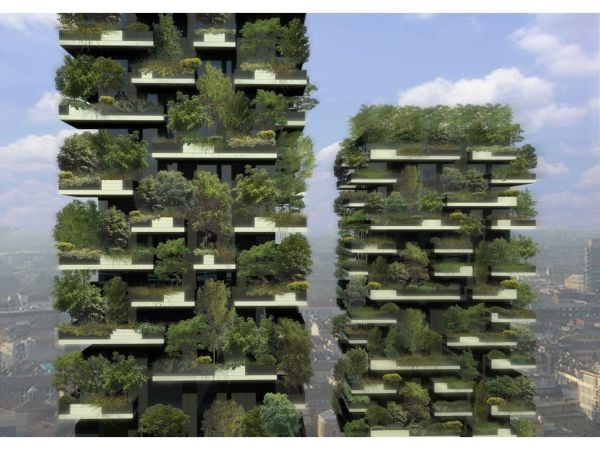"""""""Vertical forest"""" for Milan city centre"""