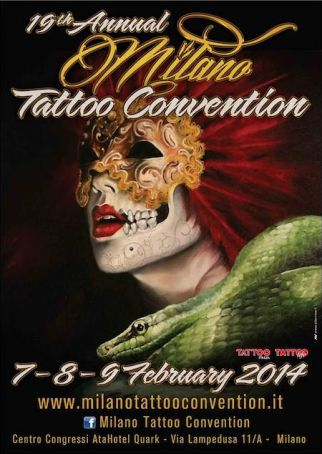 Tattoo convention in Milan