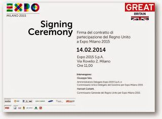 UK signs up for Expo