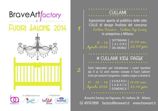 Brave Art Factory al FUORI SALONE 2014