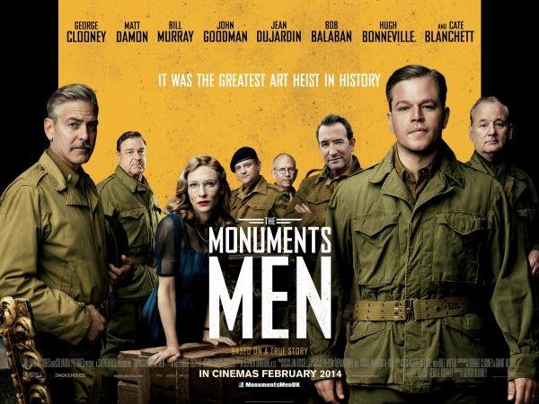 English language cinema in Milan: The Monuments Men