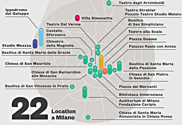Milan capital of live music