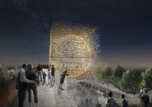 Britain's Expo pavilion inspired by honey bee