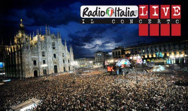 Radio Italia Live in Piazza Duomo