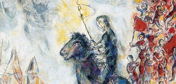 Chagall, Van Gogh and Segantini at Palazzo Reale