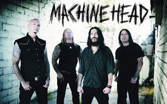 Machine Head in concert in Milan