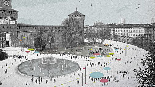 Milan's Piazza Castello redesigned