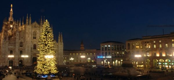 A 'White Christmas' in Milan