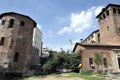 30 kmh zone in 'Roman Milan'