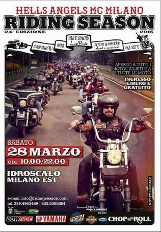 Harley-Davidson rally in Milan