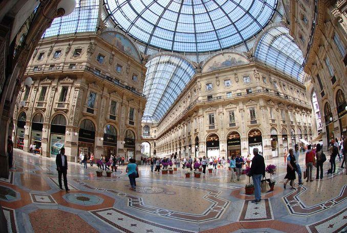 Galleria Vittorio Emanuele restores upper walkways