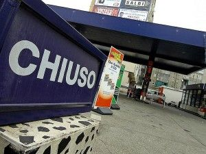 Motorway petrol stations protest price increases
