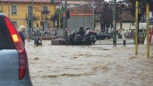 Floods in Seveso July 2014