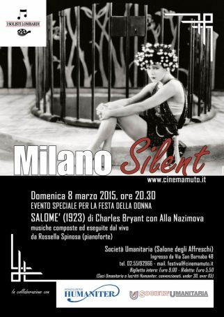 Milano Silent presents 'Salomé'